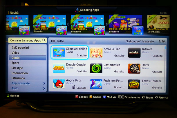 Alittleb.it has developed the most downloaded SmartTV games